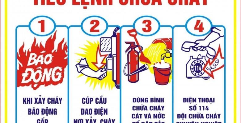 Cách thoát hiểm khi có cháy nổ tại nhà cao tầng
